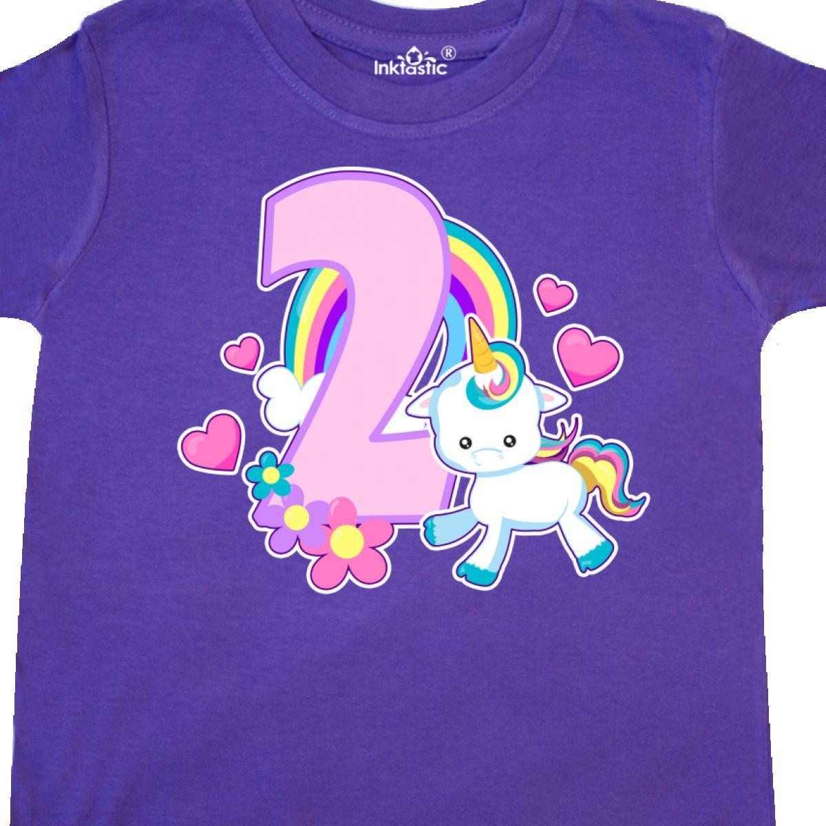 inktastic 4th Birthday Ladybug Toddler T-Shirt