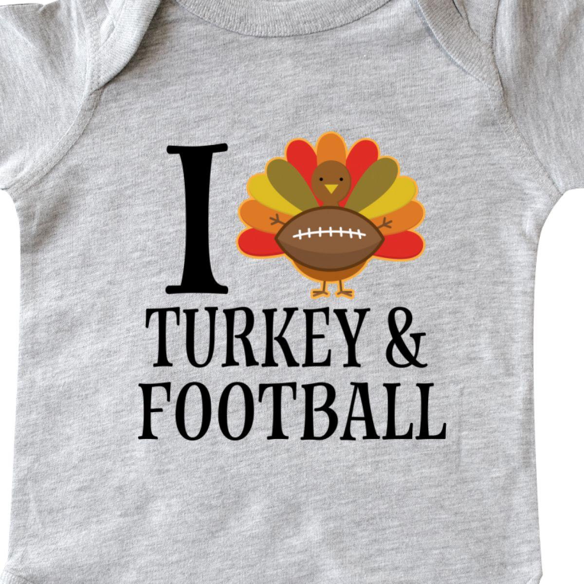 inktastic Thanksgiving Day Turkey Football Fan Toddler T-Shirt