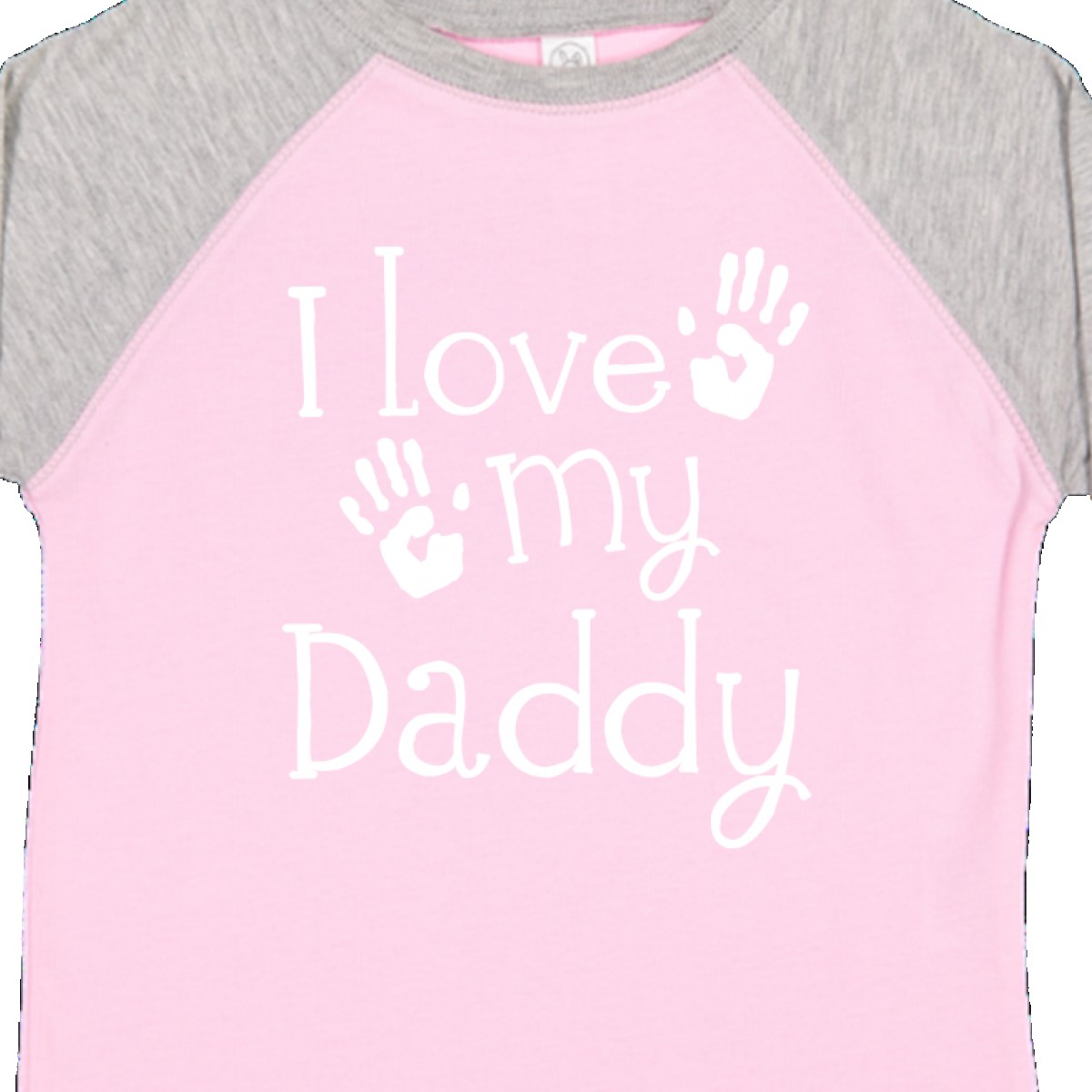f5b75e10 Inktastic I Love My Daddy Fathers Day Toddler T-Shirt Babys First ...