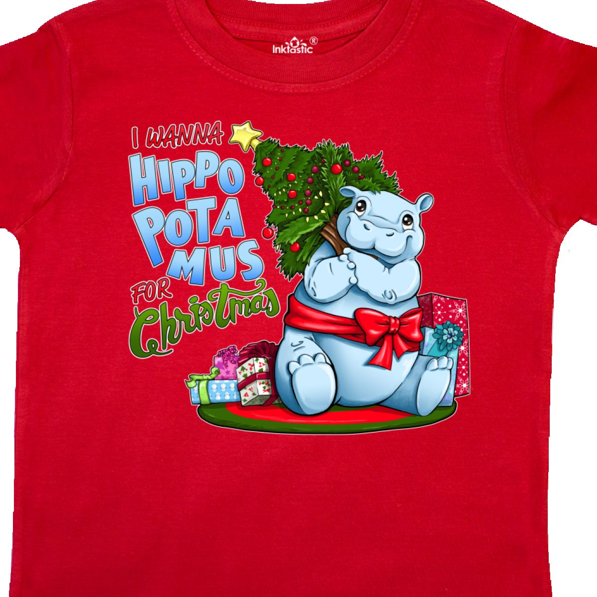 I Wanna Hippopotamus For Christmas.Details About Inktastic I Wanna Hippopotamus For Christmas Cute Hippo Toddler T Shirt Holiday