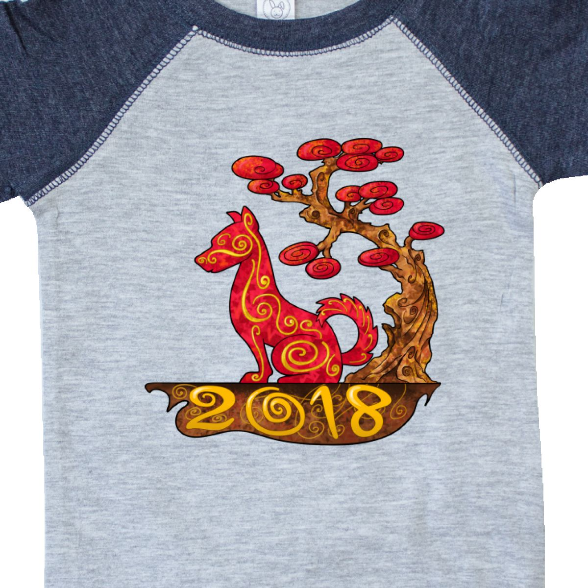 3f1cc3e9aa31 Inktastic Year Of The Dog- 2018 Infant Creeper Years Chinese Zodiac ...