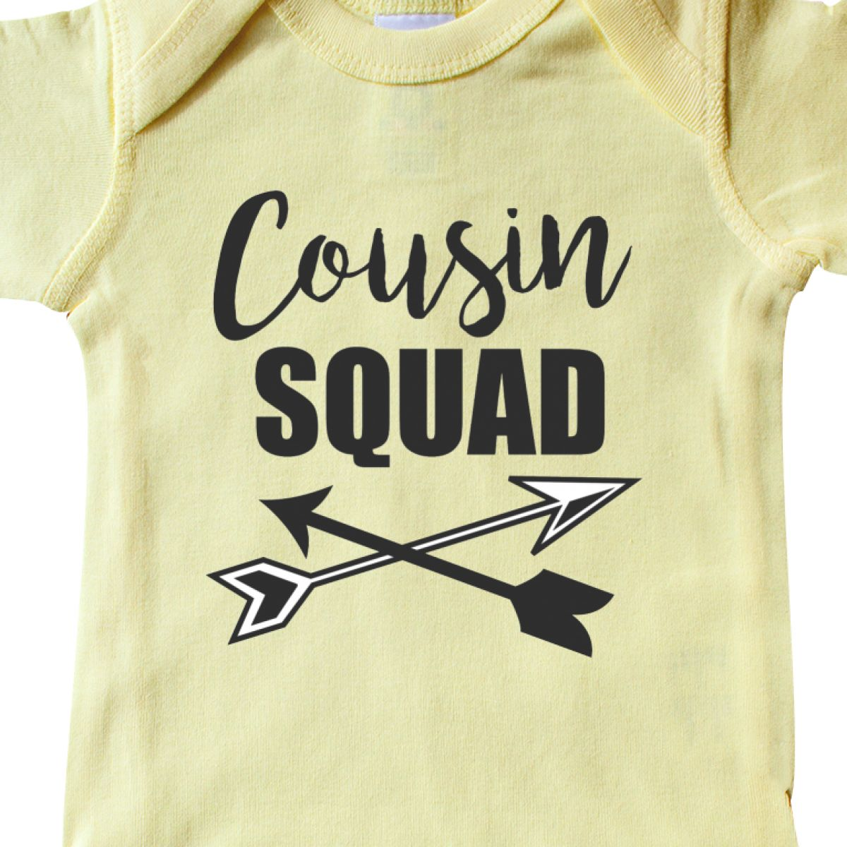 inktastic Cousin Squad Girls Toddler T-Shirt