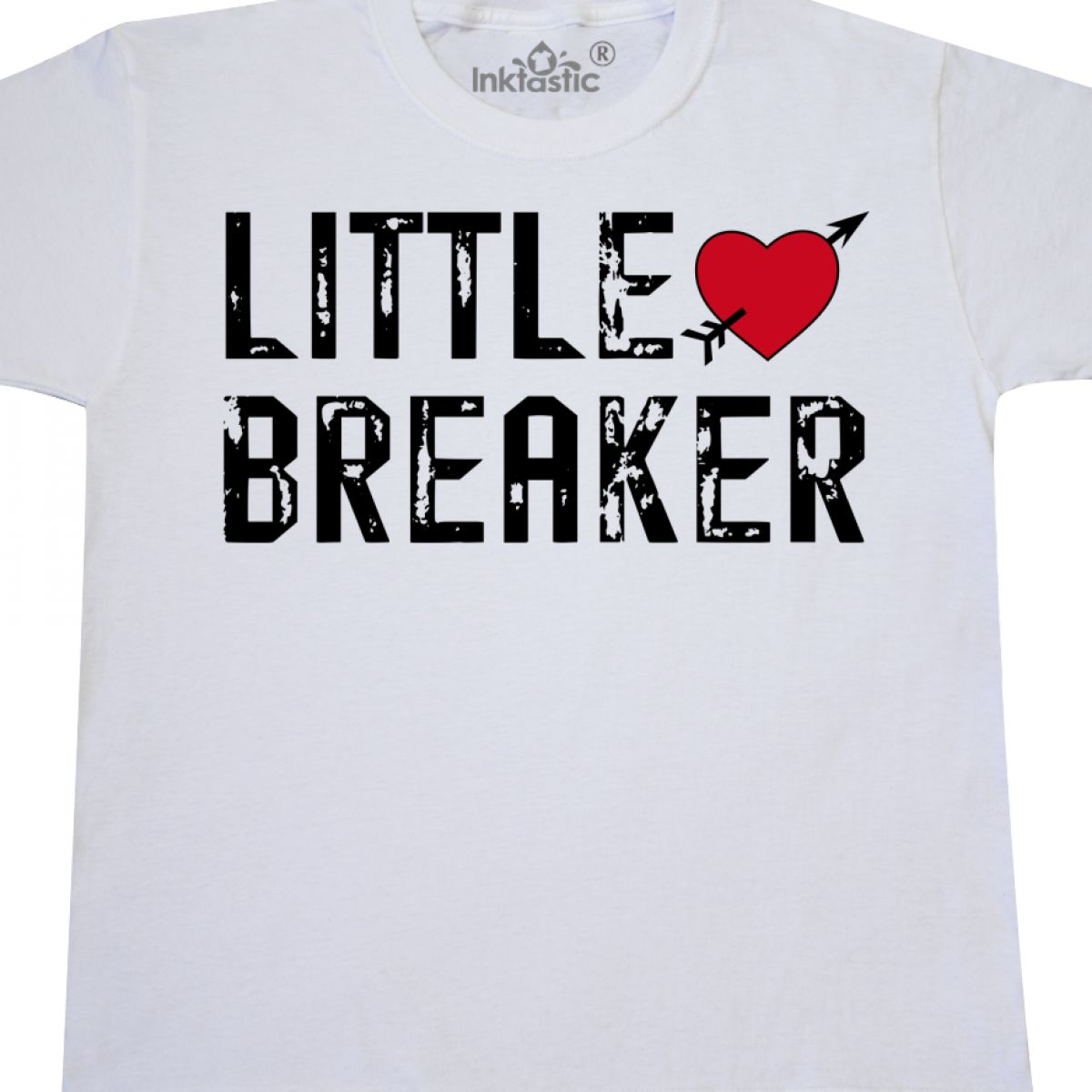 Inktastic Little Heartbreaker With Arrow Youth T Shirt Valentines
