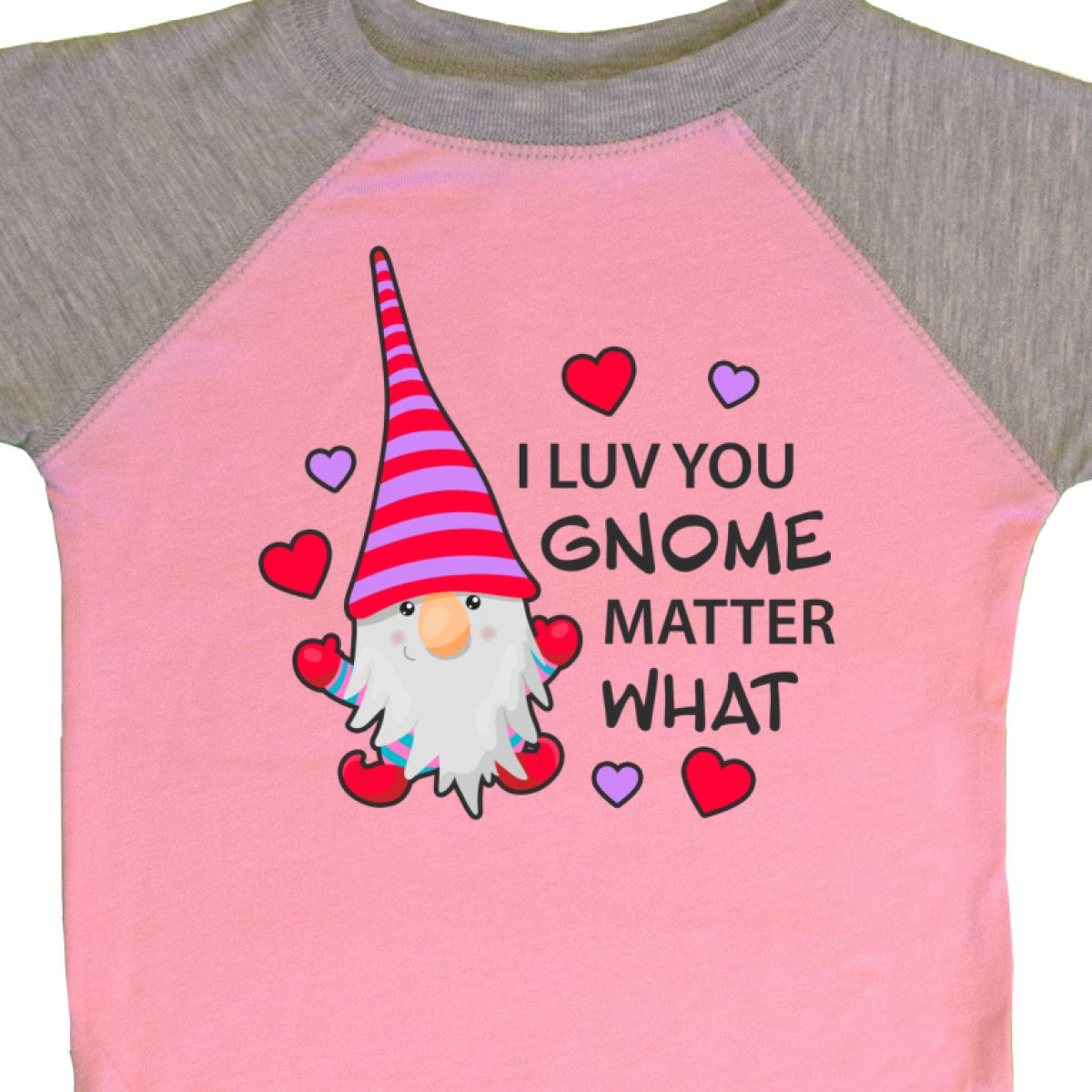 Inktastic-I-Luv-You-Gnome-Matter-What-With-Gnome-And-Hearts-Infant-Creeper-Love 縮圖 20
