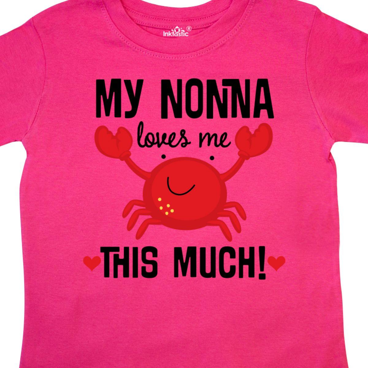 Inktastic-Nonna-Loves-Me-Grandson-Gift-Toddler-T-Shirt-Childs-Grandkids-Boys-Kid thumbnail 10