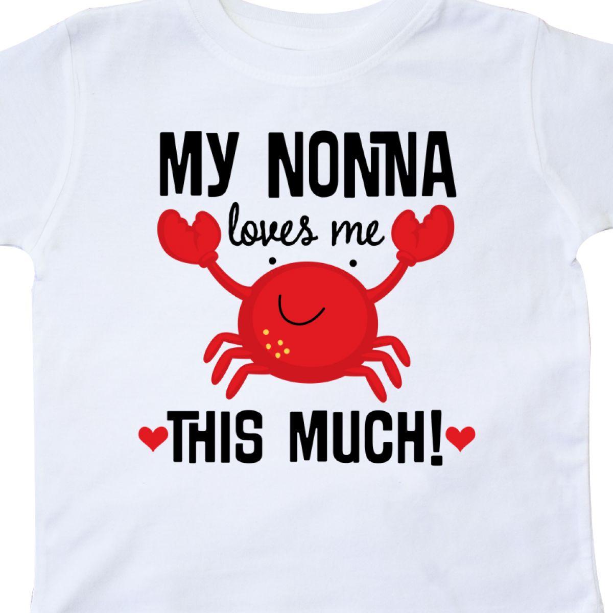 Inktastic-Nonna-Loves-Me-Grandson-Gift-Toddler-T-Shirt-Childs-Grandkids-Boys-Kid thumbnail 16