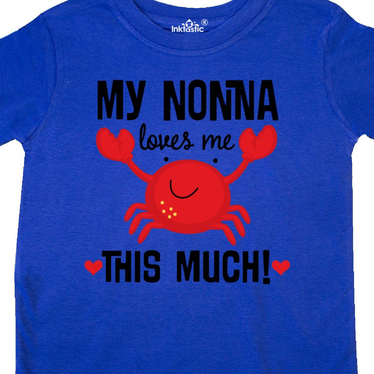 Inktastic-Nonna-Loves-Me-Grandson-Gift-Toddler-T-Shirt-Childs-Grandkids-Boys-Kid thumbnail 12