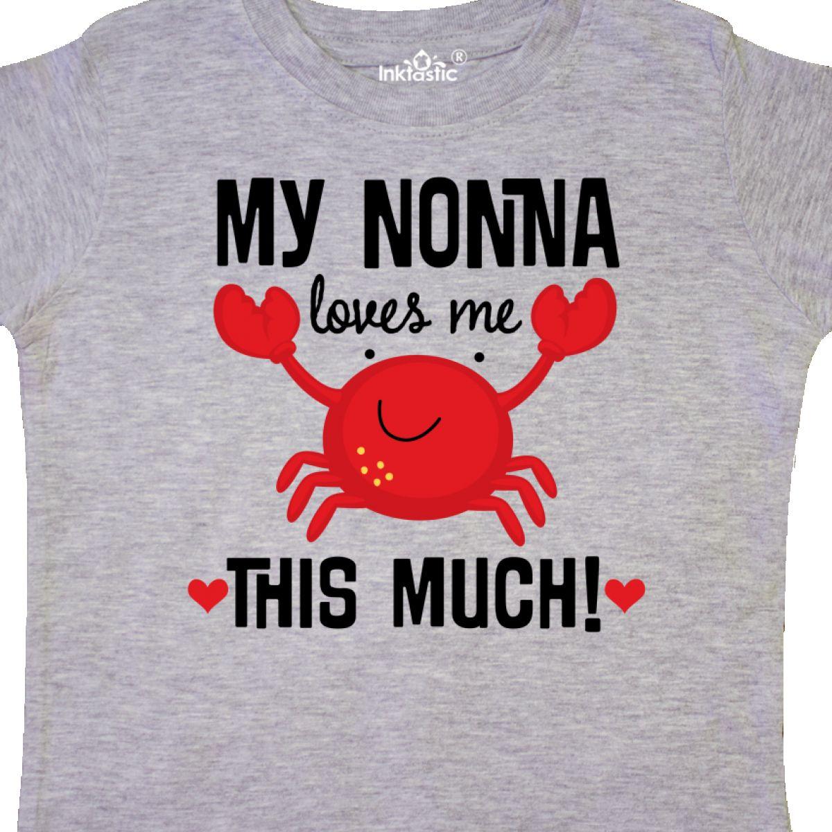 Inktastic-Nonna-Loves-Me-Grandson-Gift-Toddler-T-Shirt-Childs-Grandkids-Boys-Kid thumbnail 8