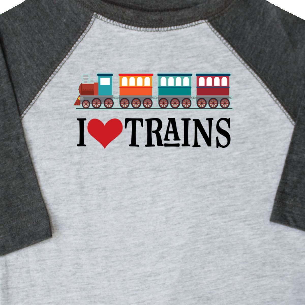 Inktastic-I-Love-Trains-Toddler-T-Shirt-Choo-Childs-Clothing-Apparel-Railfan-Set thumbnail 4