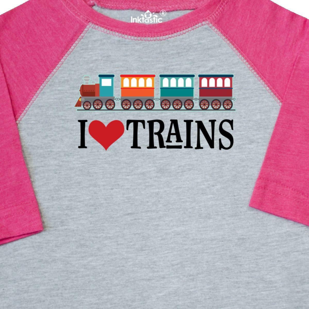 Inktastic-I-Love-Trains-Toddler-T-Shirt-Choo-Childs-Clothing-Apparel-Railfan-Set thumbnail 8
