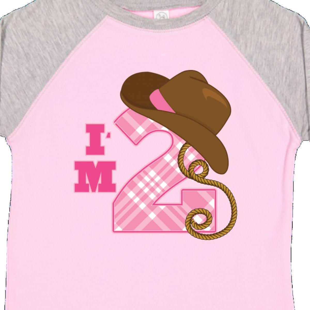 Inktastic 2nd Birthday 2 Year Old Cowgirl Hat