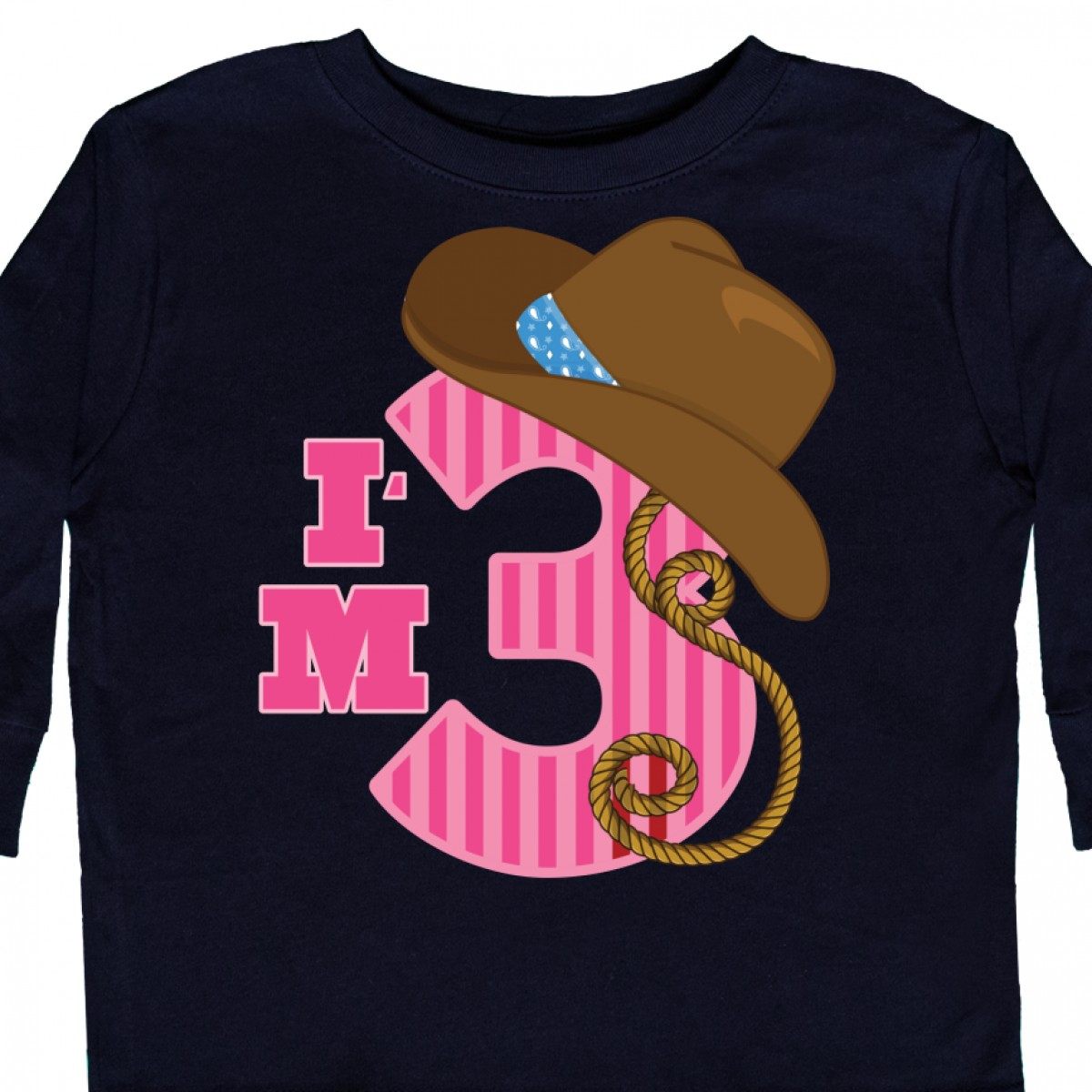 Colorful Unicorn Unisex 100/% Cotton Childrens 3//4 Sleeves T-Shirt Top Tees 2T~5//6T