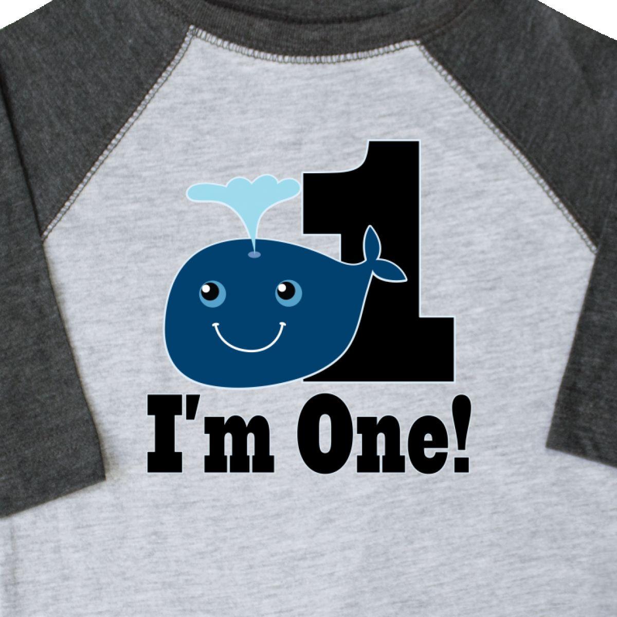 Inktastic 1st Birthday Boy Whale One Year Old