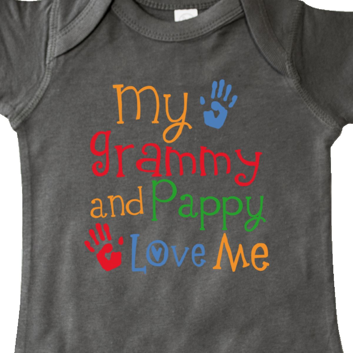 Inktastic Grammy And Pappy Love Me Infant Creeper Childs Boys Girls Cute Grandma