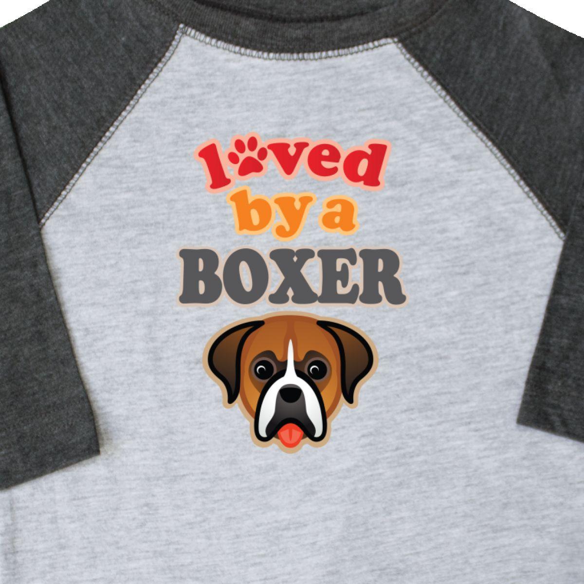 Inktastic Boxer Dog Lover Pet Owner Toddler T Shirt Clothing I Love