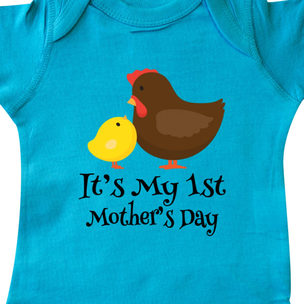 094a41d0e Inktastic 1st Mothers Day Outfit Boy Girl Infant Bodysuit First ...