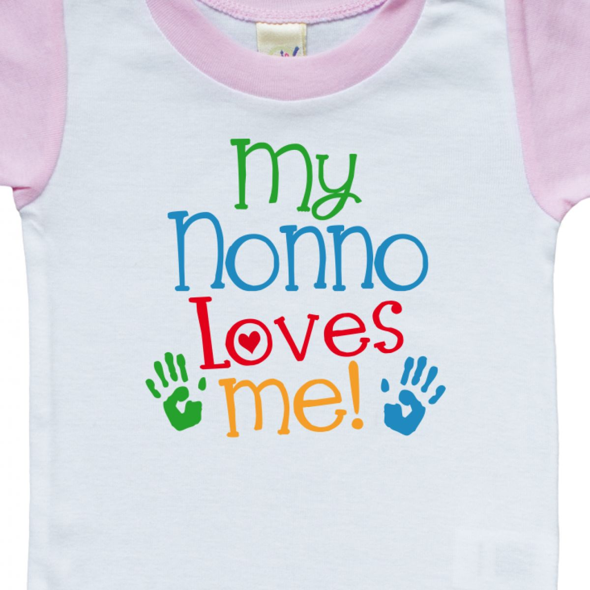 e9a74434e Inktastic Nonno Loves Me Outfit Infant Creeper Gift From Childs Grandchild  Boys
