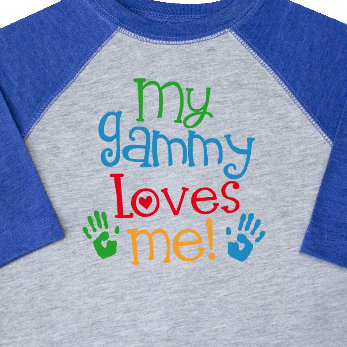 Inktastic-My-Gammy-Loves-Me-Gift-Toddler-T-Shirt-Boys-Girls-Grandchild-Grandson thumbnail 8