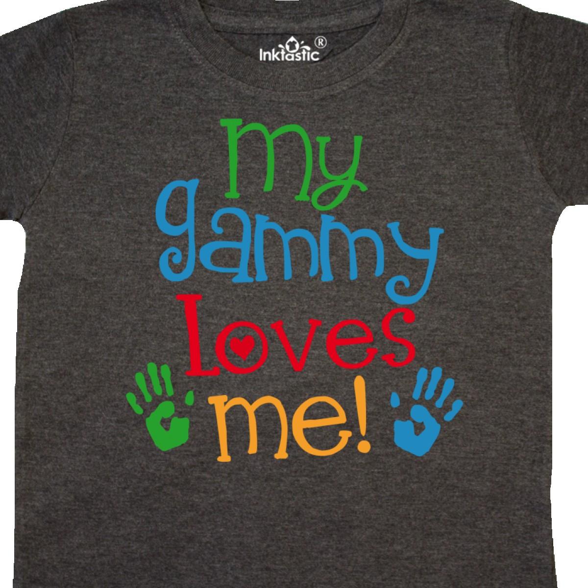 Inktastic-My-Gammy-Loves-Me-Gift-Toddler-T-Shirt-Boys-Girls-Grandchild-Grandson thumbnail 12