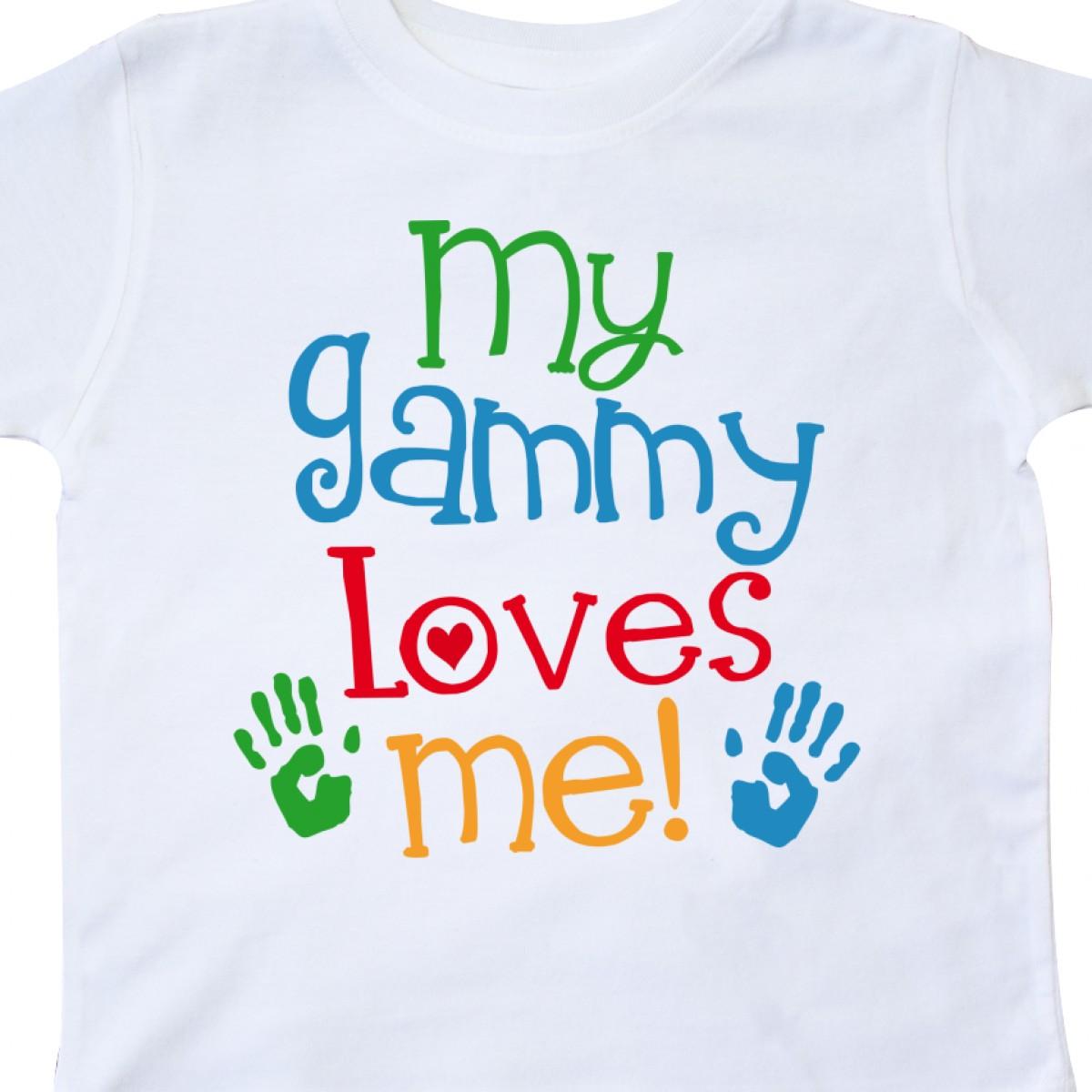 Inktastic-My-Gammy-Loves-Me-Gift-Toddler-T-Shirt-Boys-Girls-Grandchild-Grandson thumbnail 14