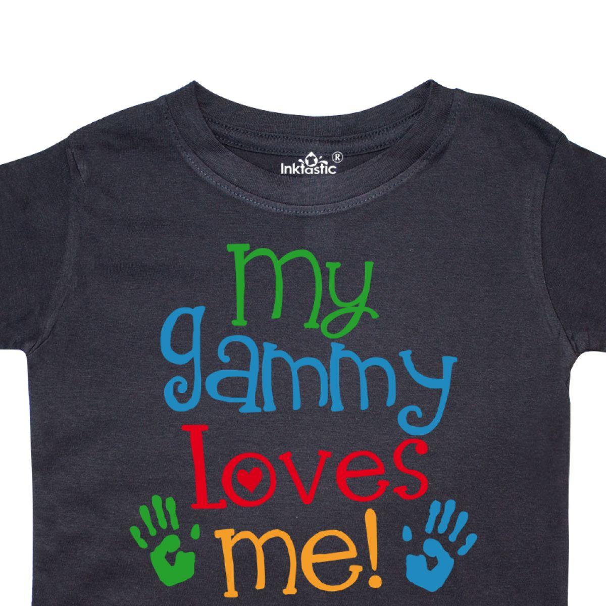 Inktastic-My-Gammy-Loves-Me-Gift-Toddler-T-Shirt-Boys-Girls-Grandchild-Grandson thumbnail 4