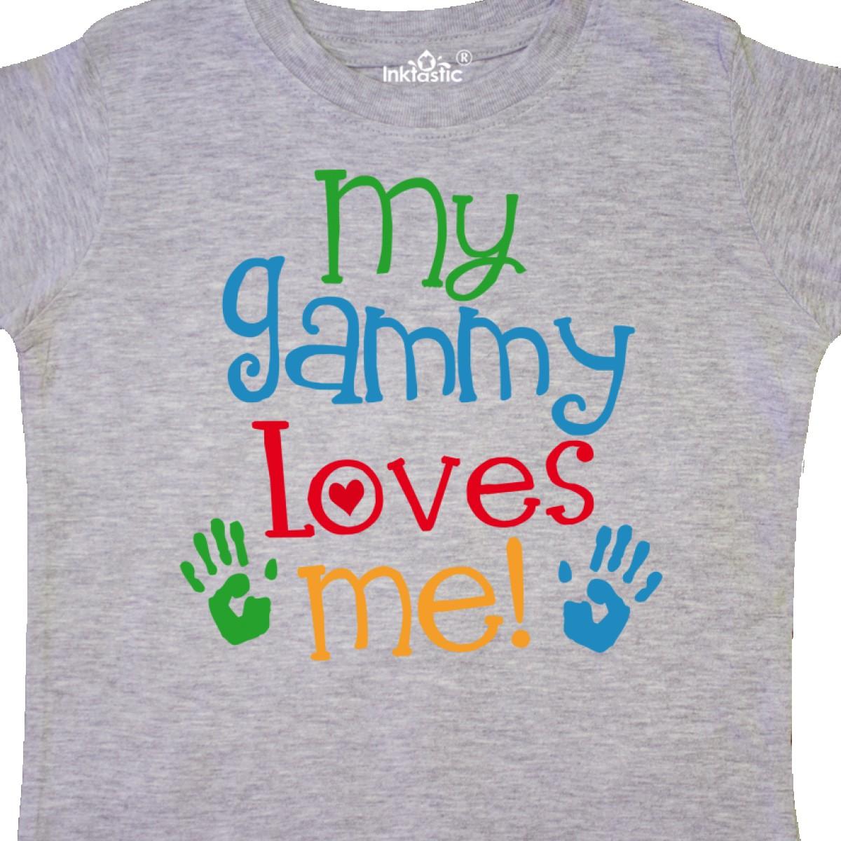 Inktastic-My-Gammy-Loves-Me-Gift-Toddler-T-Shirt-Boys-Girls-Grandchild-Grandson thumbnail 10
