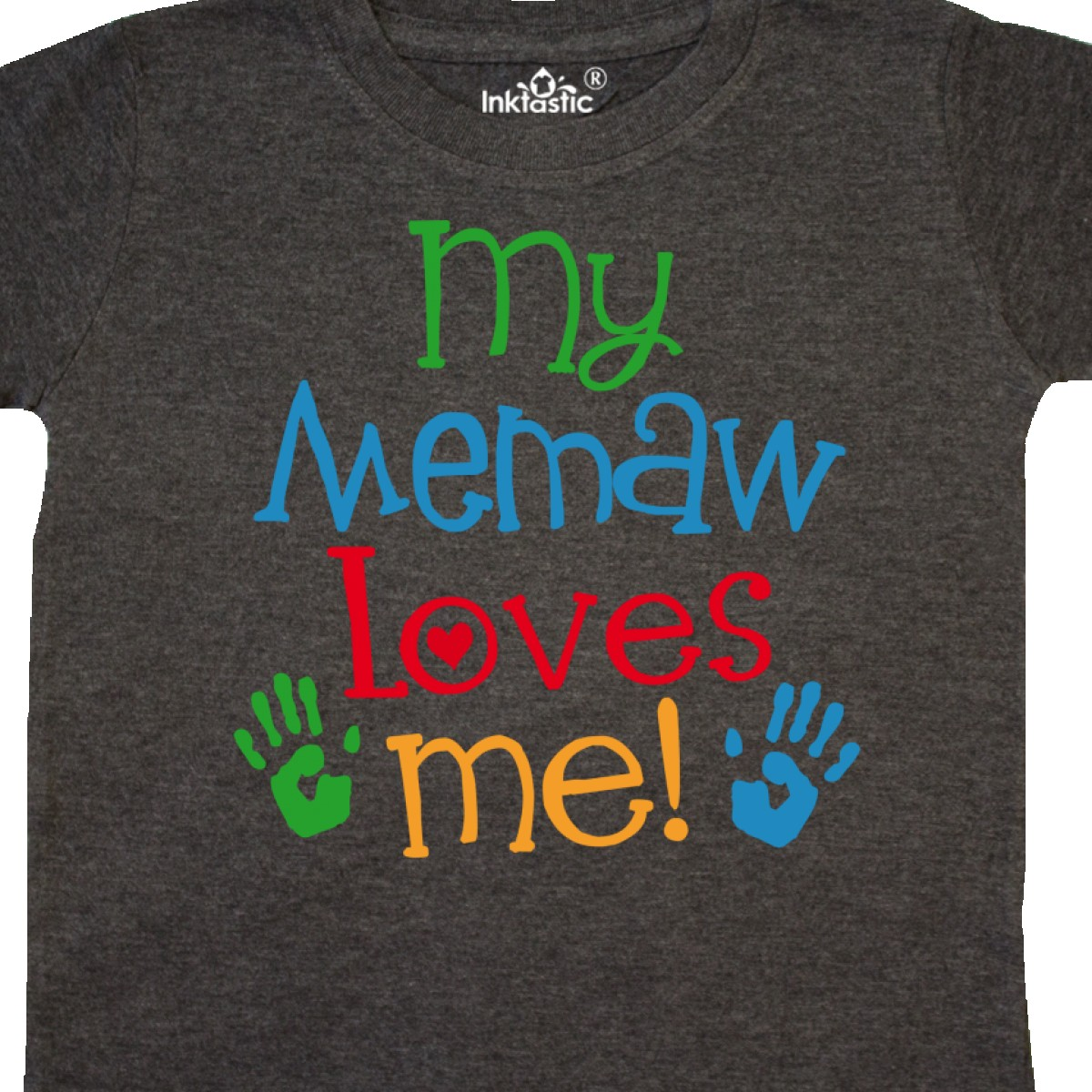 Inktastic-My-Memaw-Loves-Me-Gift-Toddler-T-Shirt-From-Grandkids-Grandchild-Boys thumbnail 8