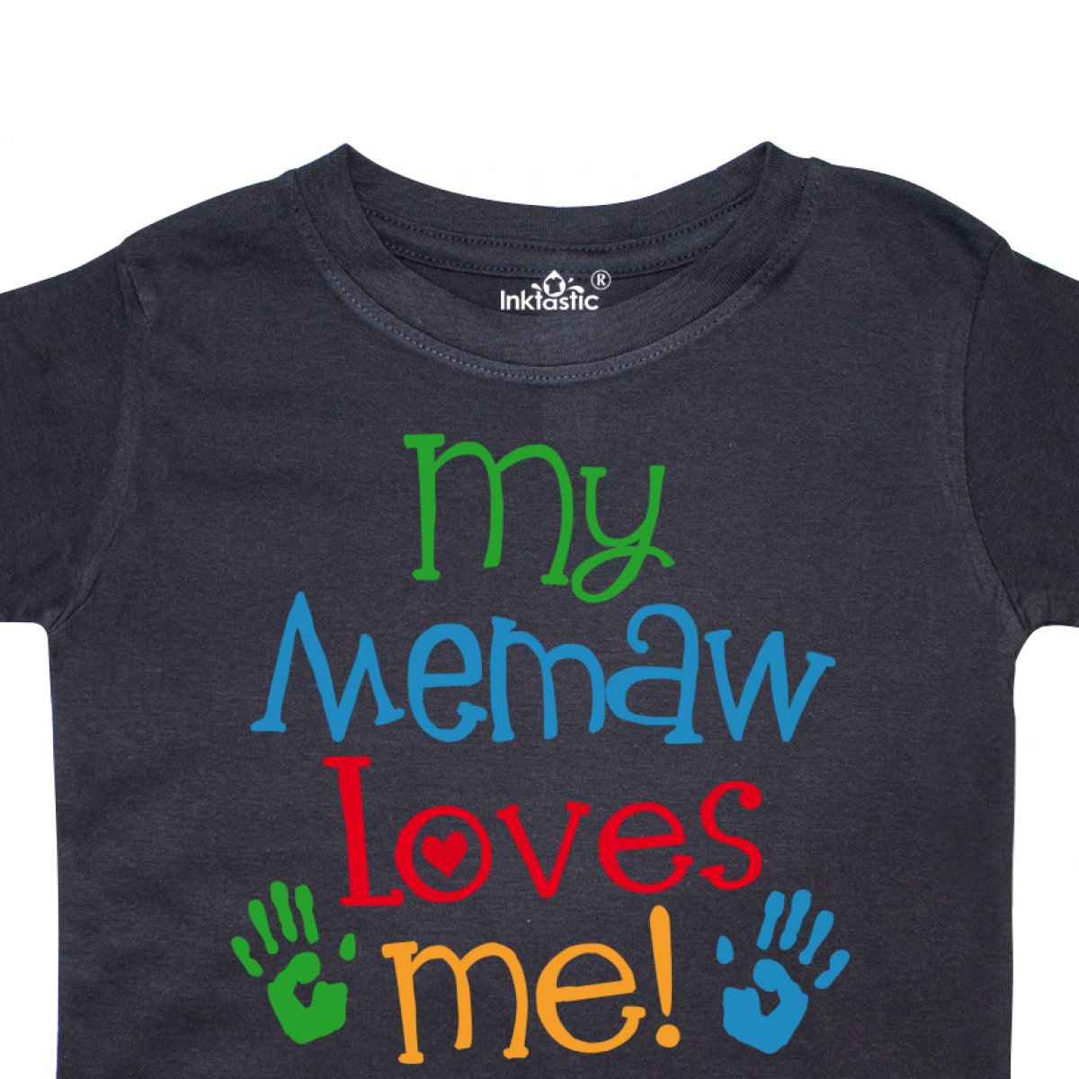 Inktastic-My-Memaw-Loves-Me-Gift-Toddler-T-Shirt-From-Grandkids-Grandchild-Boys thumbnail 4