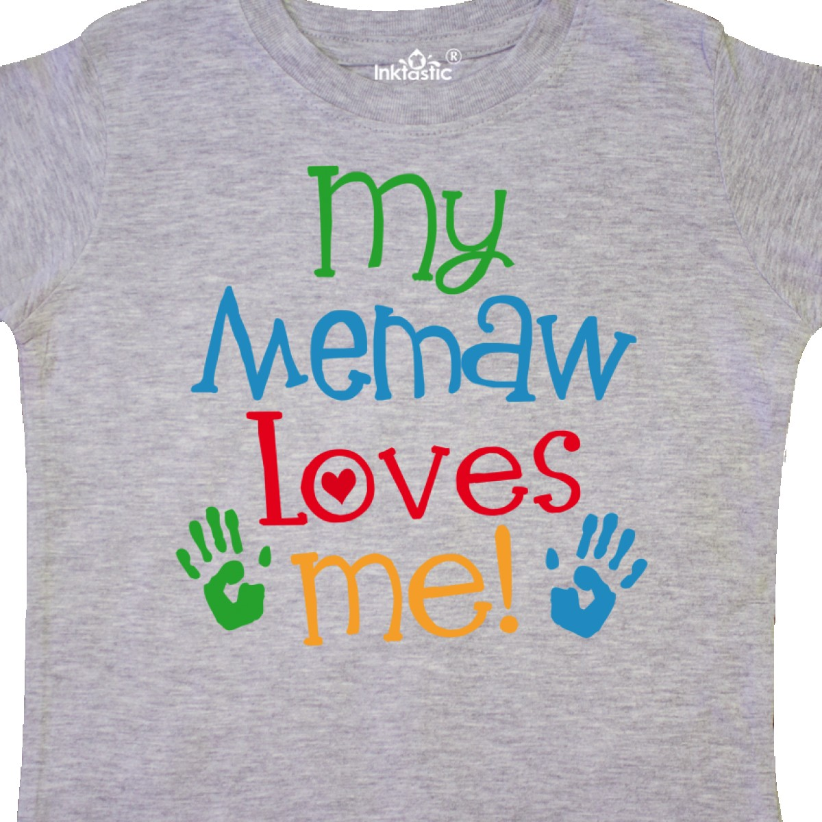 Inktastic-My-Memaw-Loves-Me-Gift-Toddler-T-Shirt-From-Grandkids-Grandchild-Boys thumbnail 6
