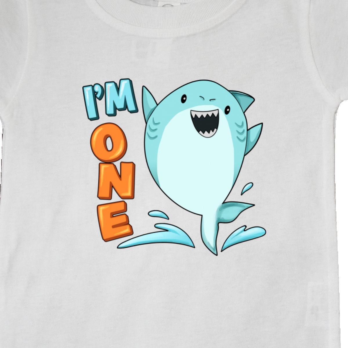 Inktastic-I-039-m-One-Shark-First-Birthday-Baby-T-Shirt-Birthdays-1st-1-Turning-Old thumbnail 16