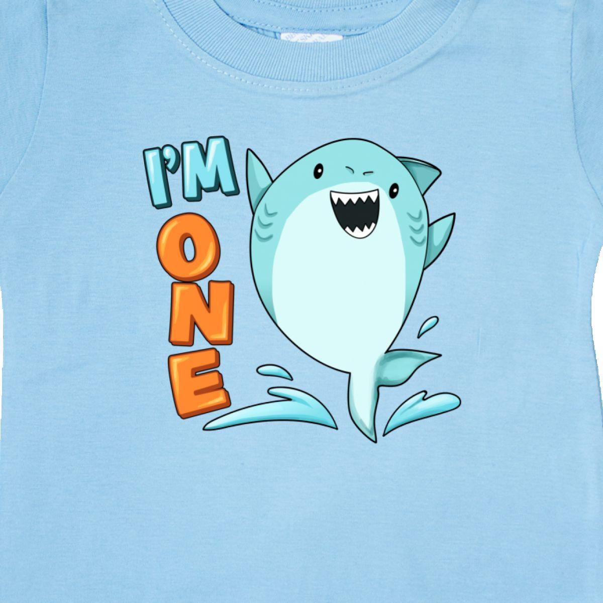 Inktastic-I-039-m-One-Shark-First-Birthday-Baby-T-Shirt-Birthdays-1st-1-Turning-Old thumbnail 8