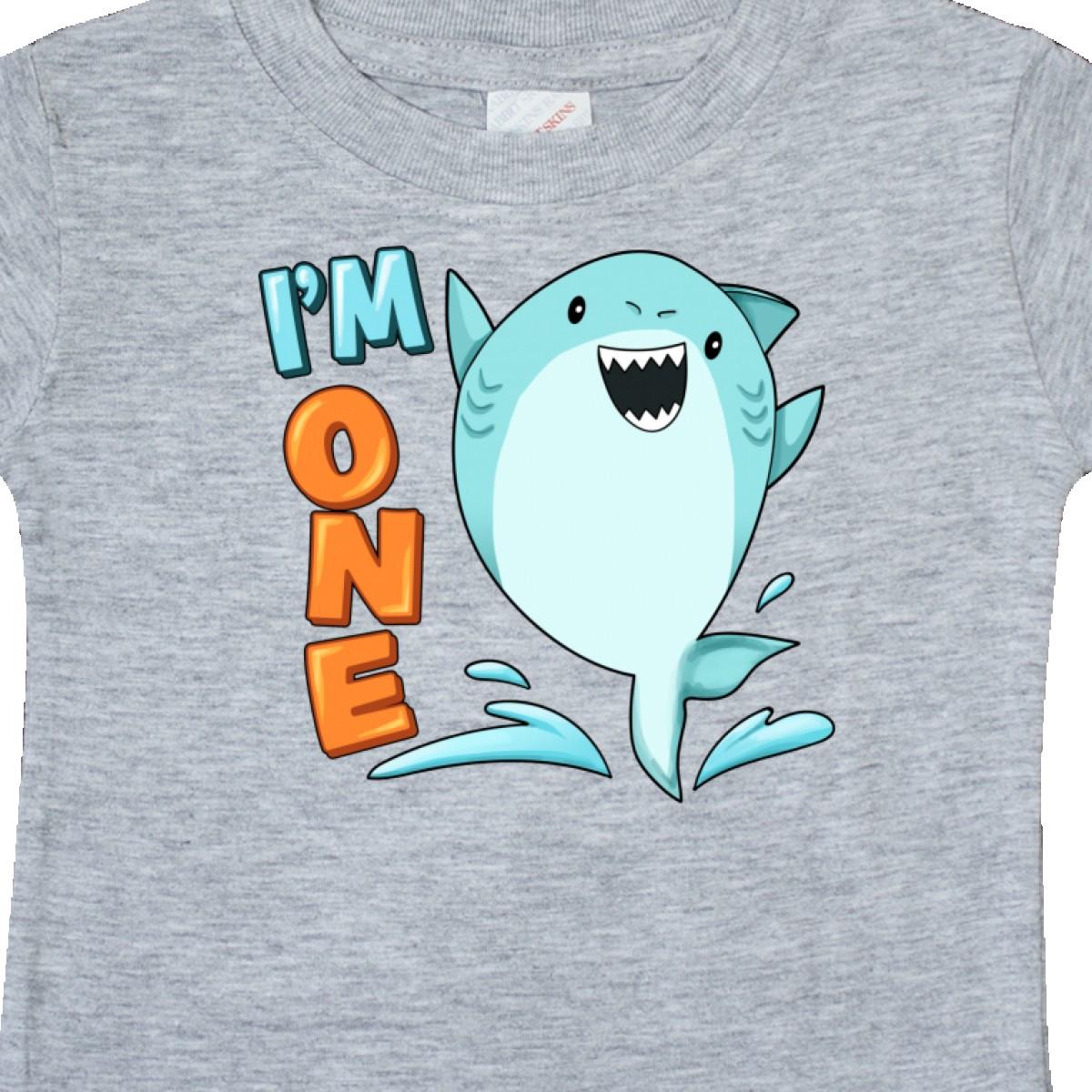 Inktastic-I-039-m-One-Shark-First-Birthday-Baby-T-Shirt-Birthdays-1st-1-Turning-Old thumbnail 6