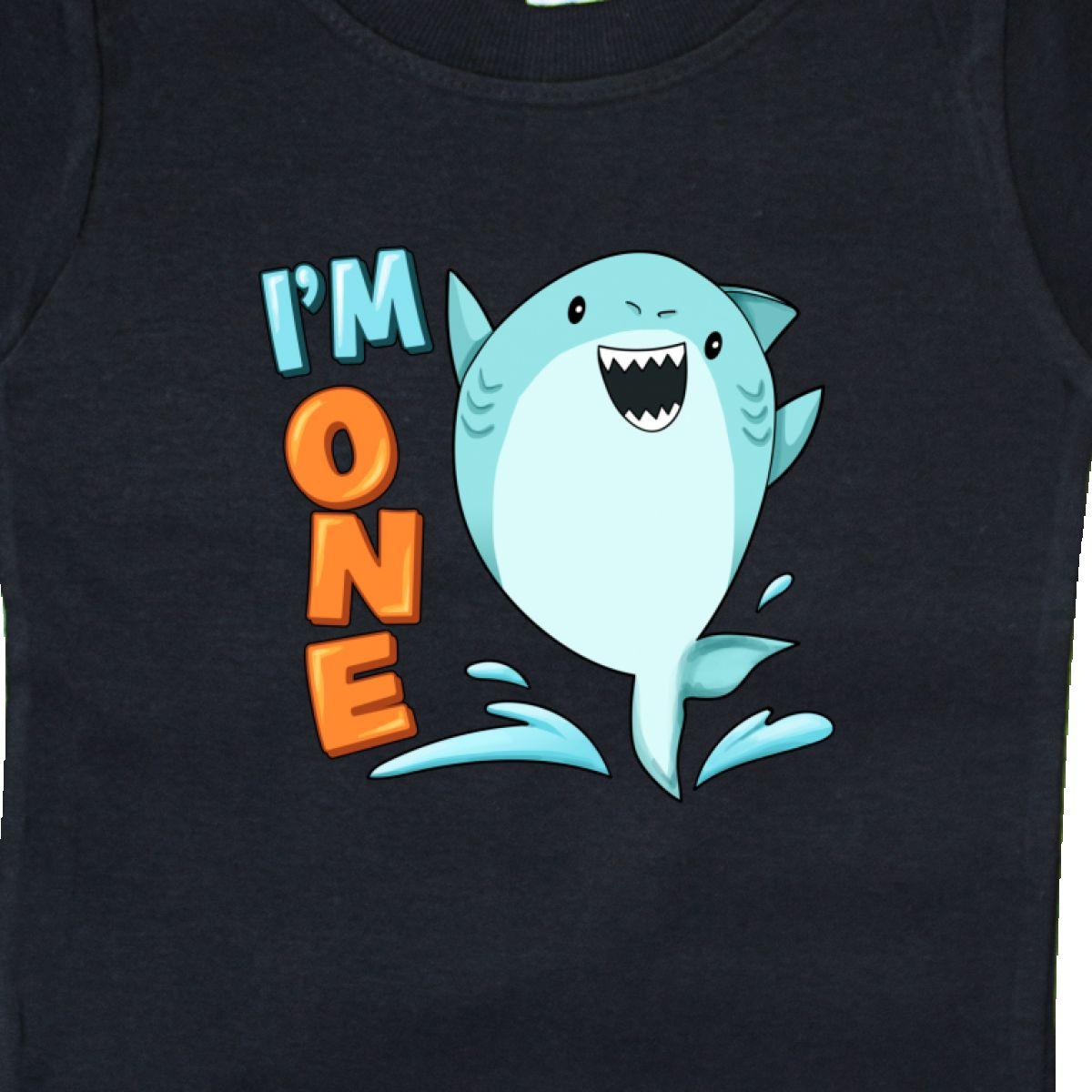 Inktastic-I-039-m-One-Shark-First-Birthday-Baby-T-Shirt-Birthdays-1st-1-Turning-Old thumbnail 4