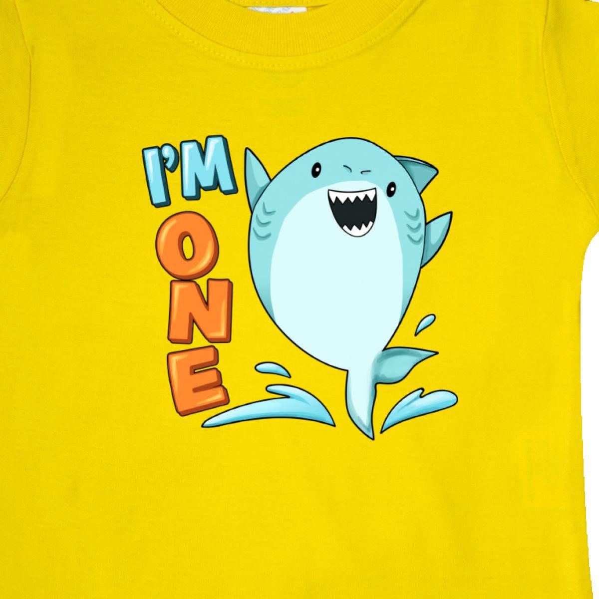 Inktastic-I-039-m-One-Shark-First-Birthday-Baby-T-Shirt-Birthdays-1st-1-Turning-Old thumbnail 18