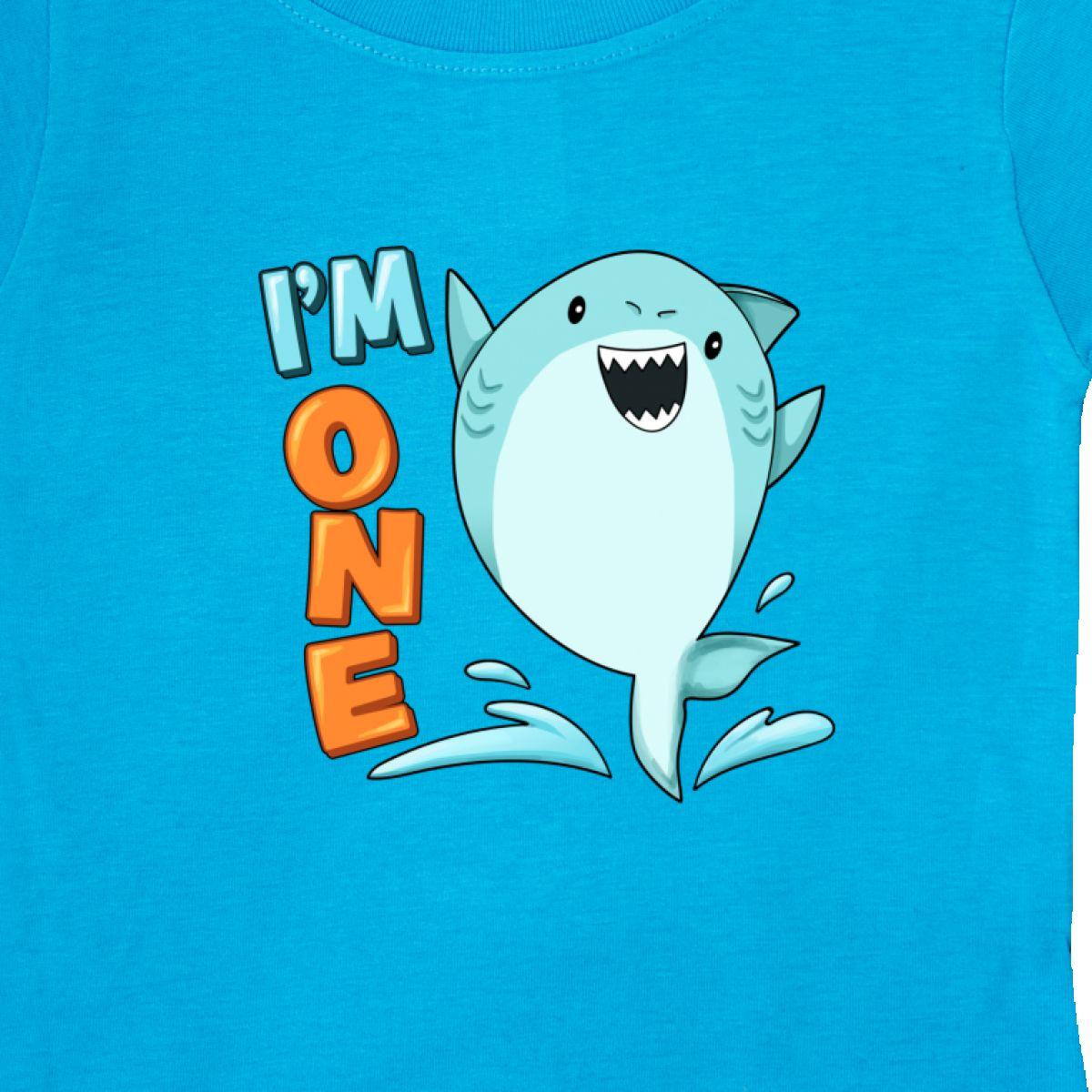 Inktastic-I-039-m-One-Shark-First-Birthday-Baby-T-Shirt-Birthdays-1st-1-Turning-Old thumbnail 14