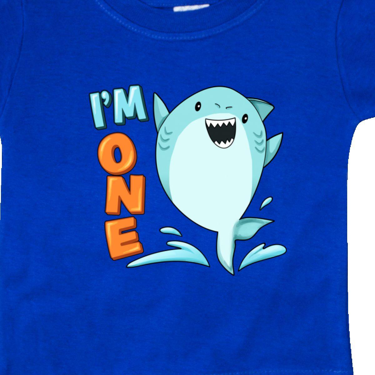 Inktastic-I-039-m-One-Shark-First-Birthday-Baby-T-Shirt-Birthdays-1st-1-Turning-Old thumbnail 12