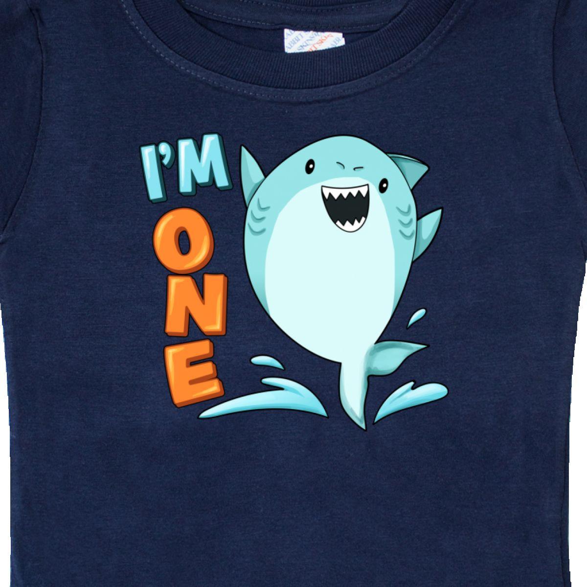 Inktastic-I-039-m-One-Shark-First-Birthday-Baby-T-Shirt-Birthdays-1st-1-Turning-Old thumbnail 10