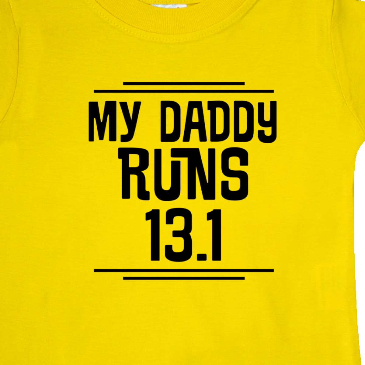 4642948a61e63 Details about Inktastic My Daddy Runs Half Marathon Baby T-Shirt Run Runner  Boys Girls Childs