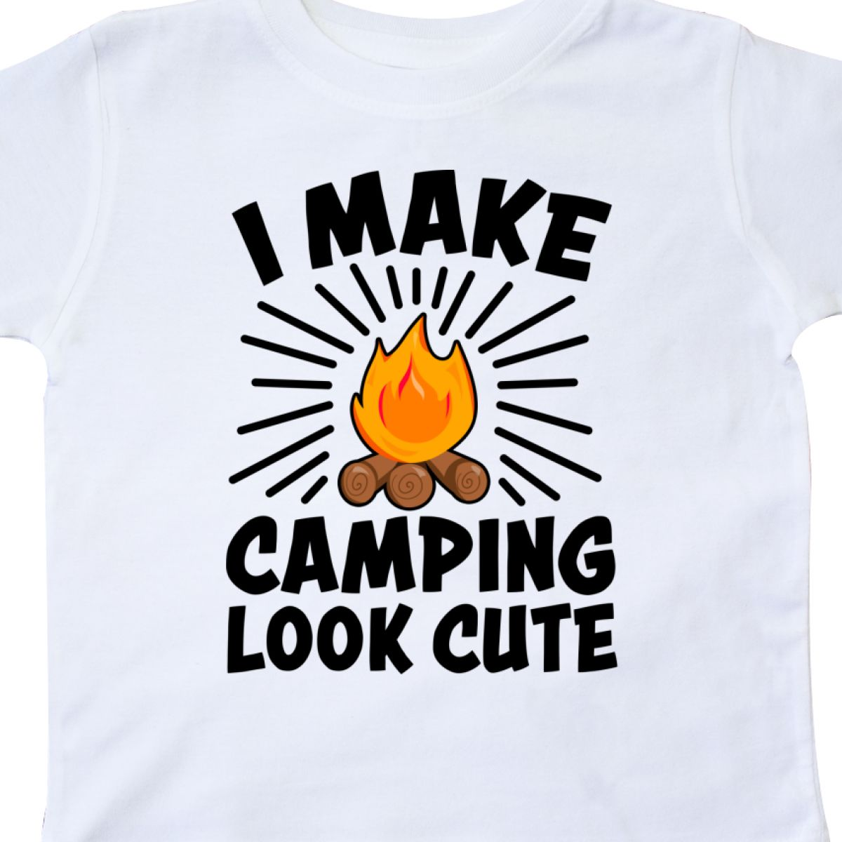 Inktastic-I-Make-Camping-Look-Cute-Toddler-T-Shirt-Love-Outdoors-Nature-Campfire thumbnail 10
