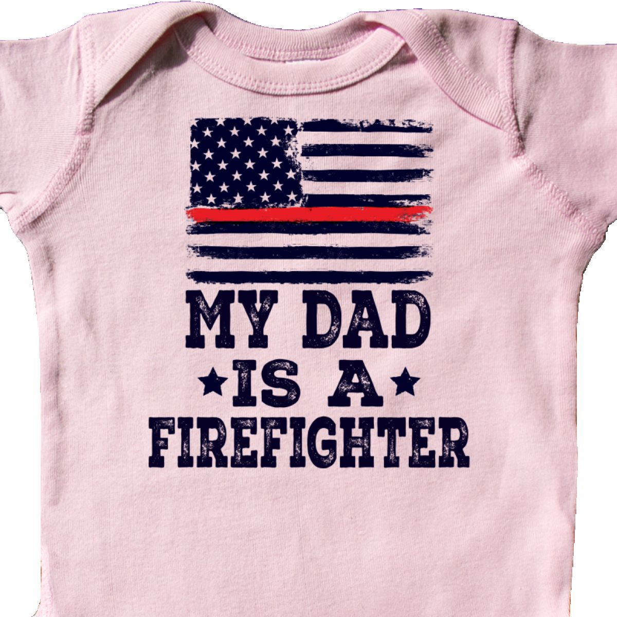 01f67c863079e Details about Inktastic Dad Is A Firefighter Infant Creeper Fireman Daddy  Childs Boys Girls
