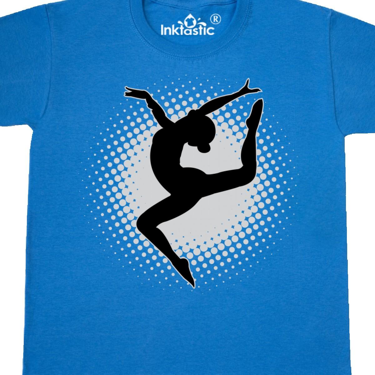 c0cd0edfc Inktastic Ballet Dancer Silhouette Ballerina Youth T-Shirt Dancing ...