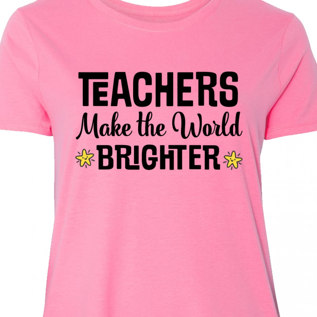 Inktastic Teach Love And Inspire With Hearts Women/'s T-Shirt School Teachers For