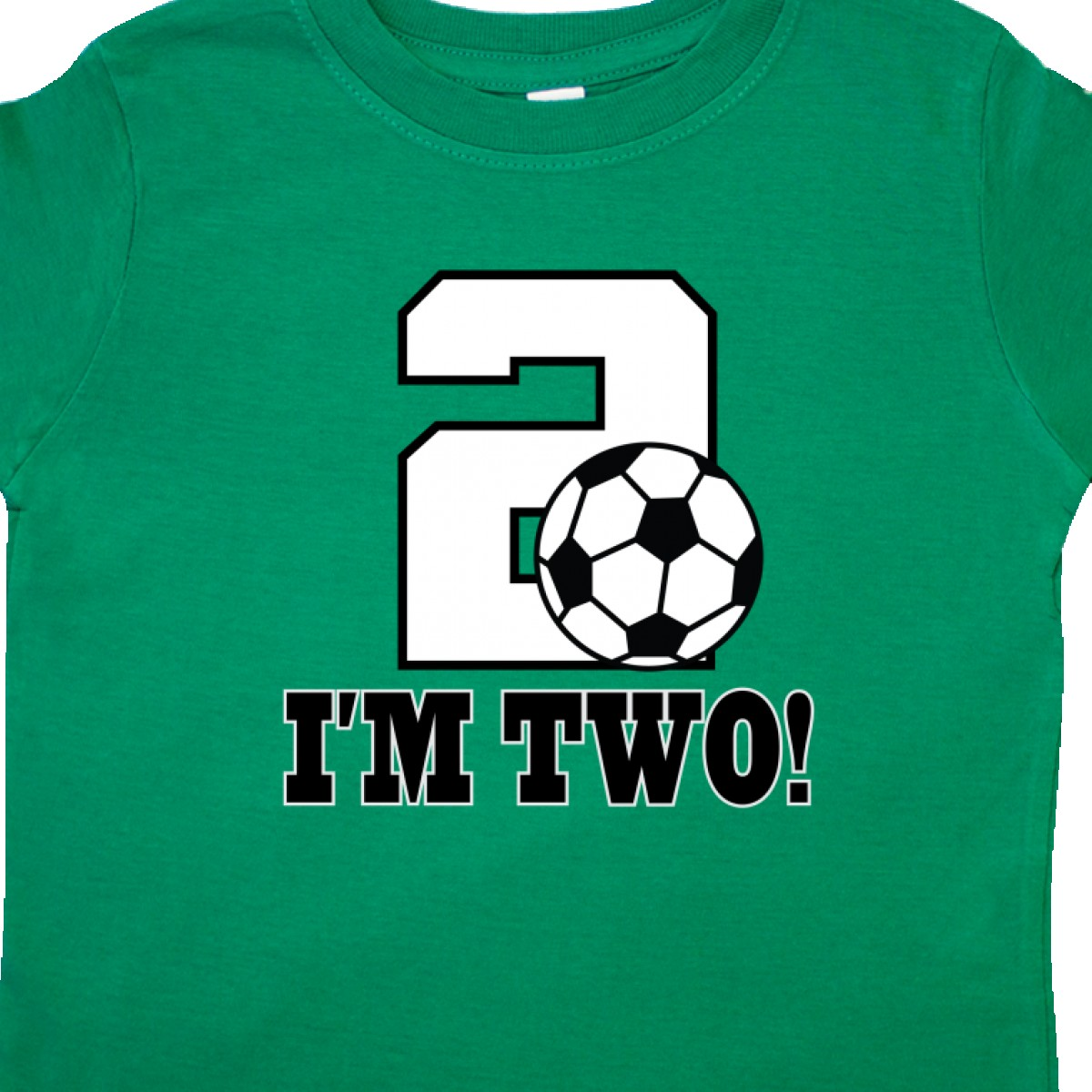 a5e0ecd0 Inktastic 2nd Birthday Soccer Outfit Toddler T-Shirt Sports Party ...