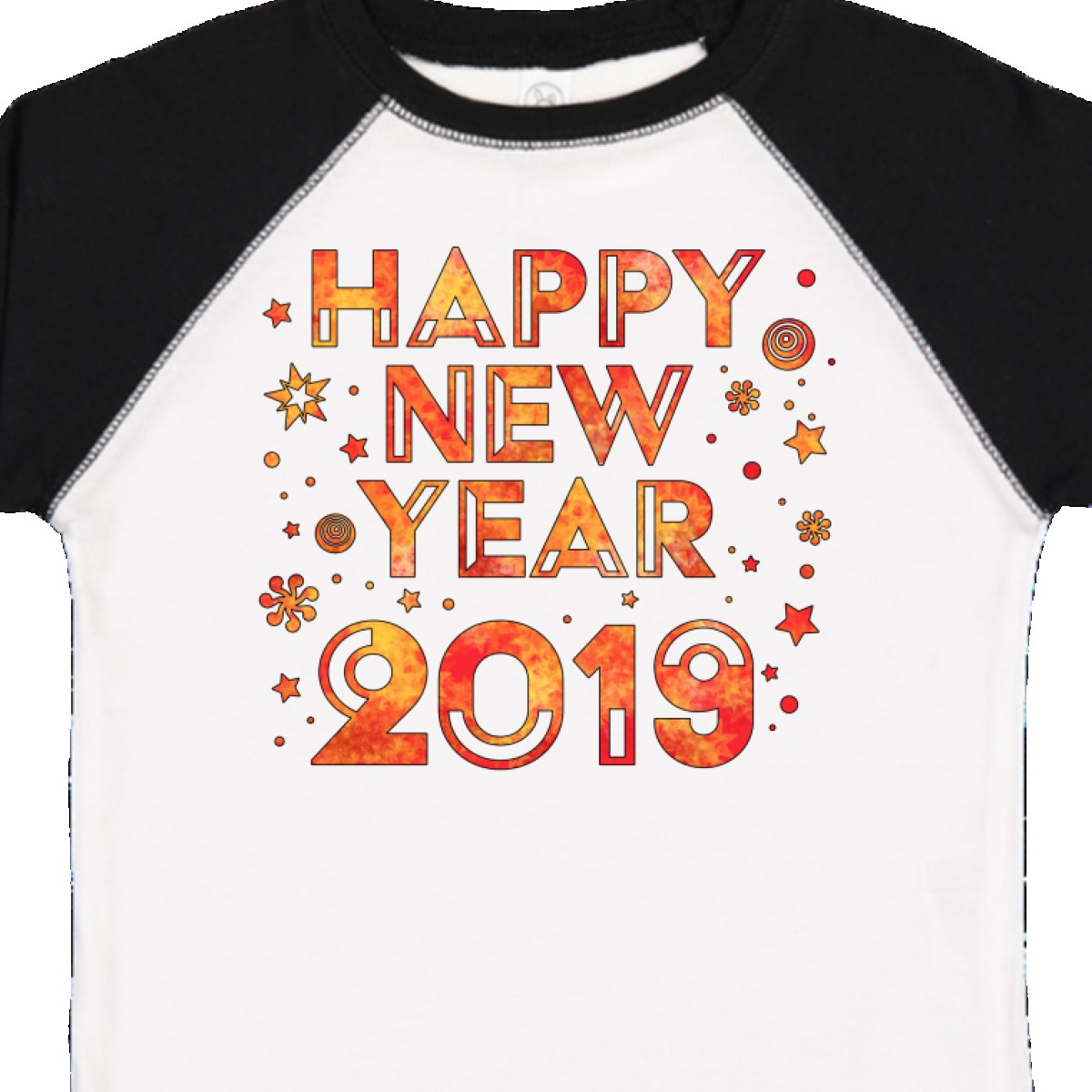 85dda3594 Inktastic 2019-Happy New Year Toddler T-Shirt Years Happy 2019 Confetti  Party Baby & Toddler Clothing