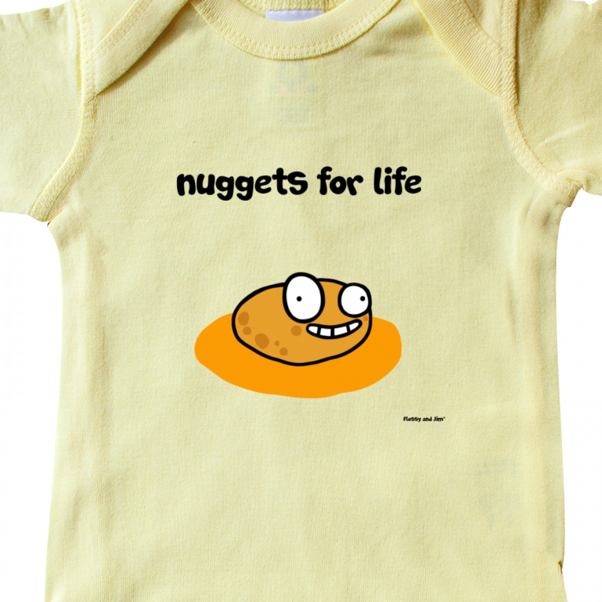 Nuggets Of Information: Inktastic Nuggets For Life Infant Creeper Chicken Trendy