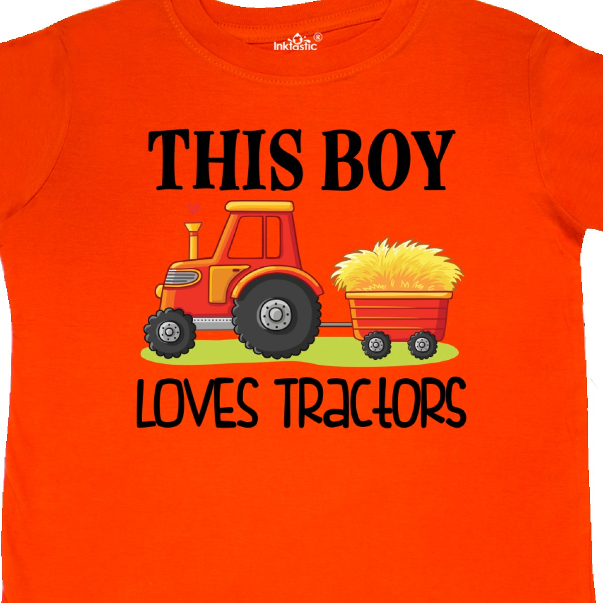 Inktastic-Farming-Cute-Boy-Loves-Tractors-Toddler-T-Shirt-Farm-Childs-Toys-Kids thumbnail 14
