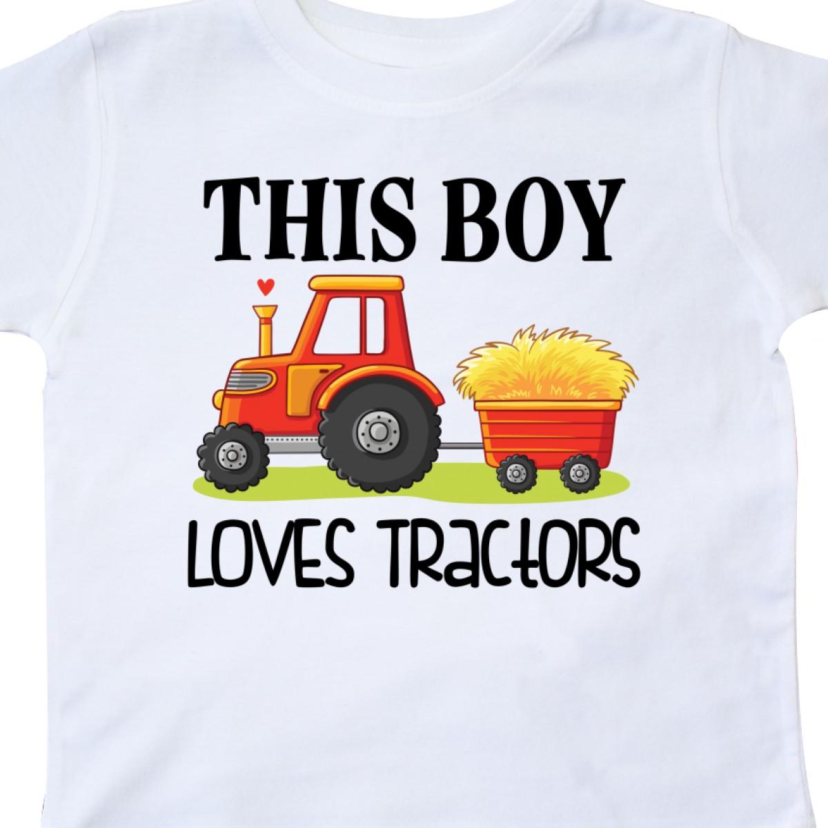 Inktastic-Farming-Cute-Boy-Loves-Tractors-Toddler-T-Shirt-Farm-Childs-Toys-Kids thumbnail 20