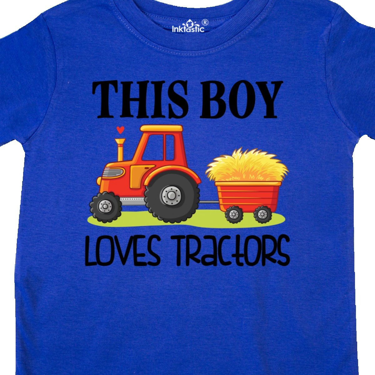 Inktastic-Farming-Cute-Boy-Loves-Tractors-Toddler-T-Shirt-Farm-Childs-Toys-Kids thumbnail 16