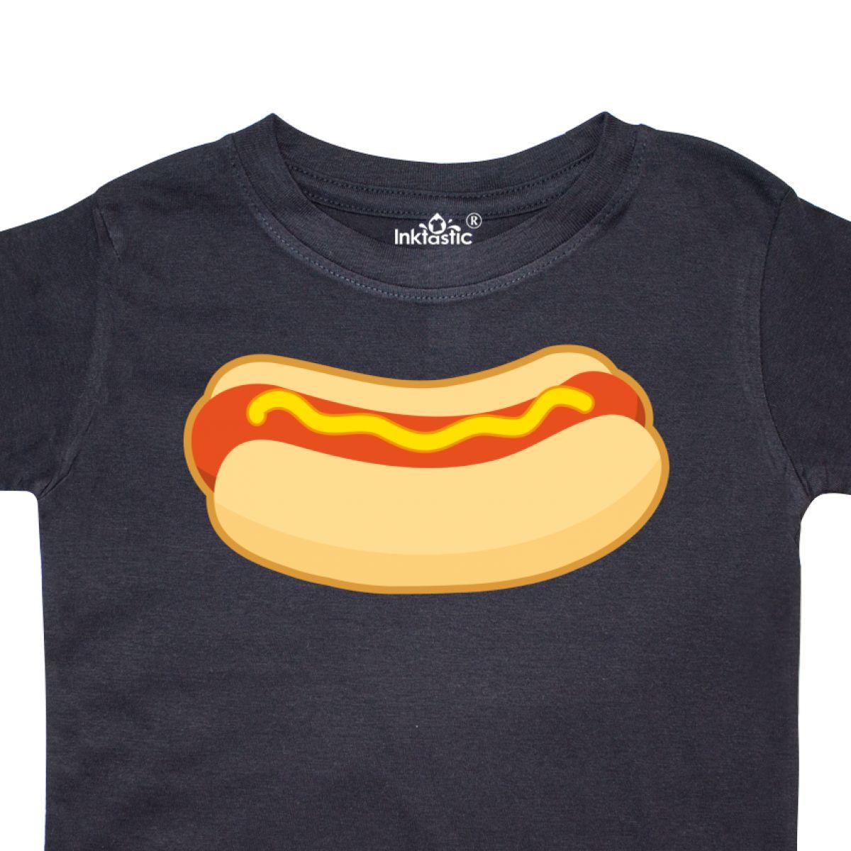 Inktastic-Funny-Hot-Dog-Toddler-T-Shirt-Food-Bbq-Picnic-Summer-Apparel-Gift-Kid thumbnail 4