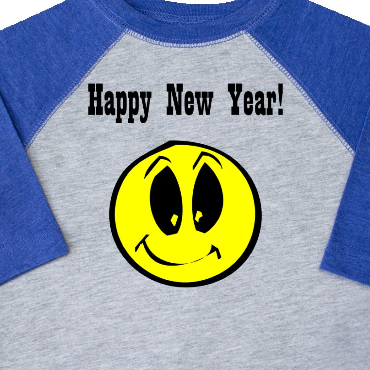 f1efb7faf Inktastic Happy New Year Smiley Face Toddler T-Shirt Years Eve Tees ...